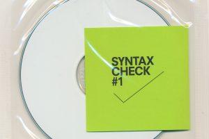 syntax check 1